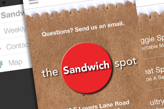 Picture of The Sandwich Spot App